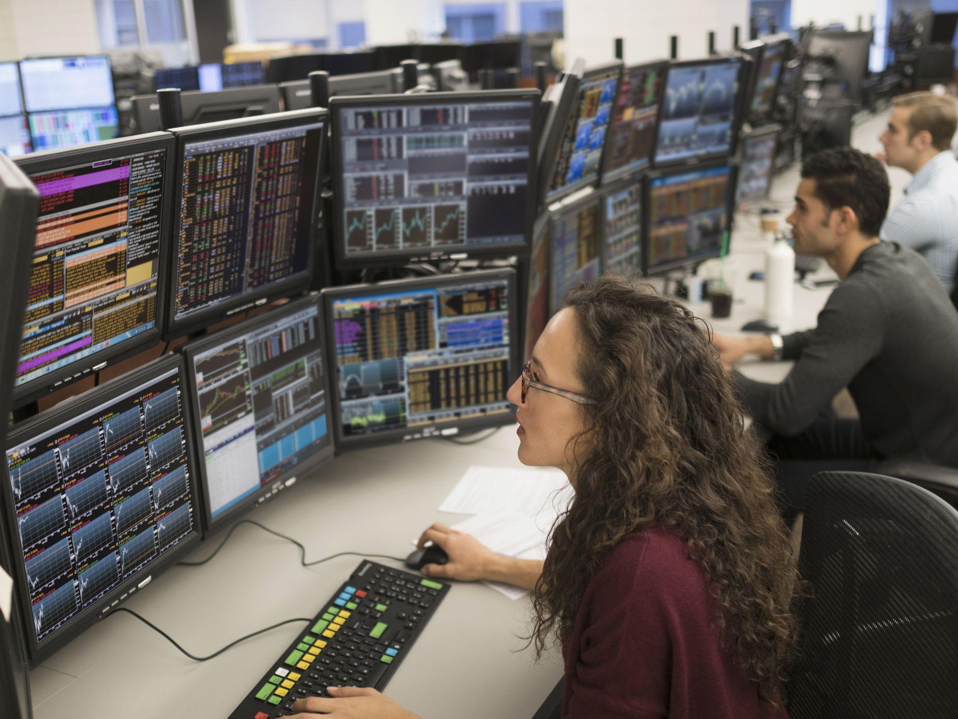 Online Trading Brokerage